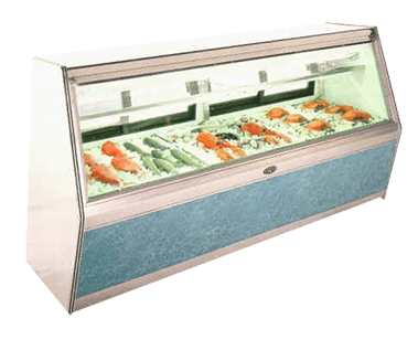 MFC Series, Remote & Self-Contained, Double Duty Fish Display Case - JrcNYC