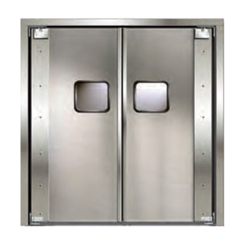 Curtron SPD-20-AL-DBL-4884 Service-Pro Series 20 Double Swinging Door, 48