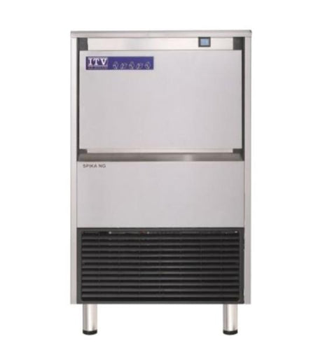 ITV SPIKA NG125-A1F Air-Cooled 146 LB Full Dice Cube Undercounter Ice Maker - JrcNYC