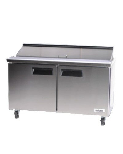 BISON BST‐60‐24 MEGA TOP SANDWICH / SALAD PREPARATION REFRIGERATOR 18.6 CU. FT - JrcNYC