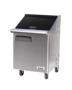 BISON BST‐27‐12 MEGA TOP SANDWICH / SALAD PREPARATION REFRIGERATOR 7.9 CU. FT. - JrcNYC