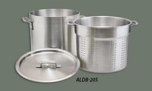 Winco Perforated Aluminum Pots & Steamers - JrcNYC