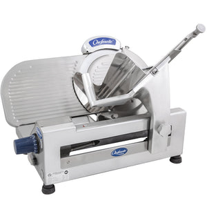 "Globe Chefmate GC512 12"" Manual Gravity Feed Slicer - 1/3 hp - JrcNYC"