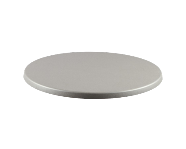 Brushed Silver Table Top - JrcNYC