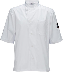 Ventilated Unisex  Chef Shirt UNF-9WL - JrcNYC
