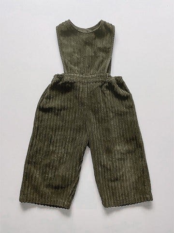 The Vintage Corduroy Jumpsuit