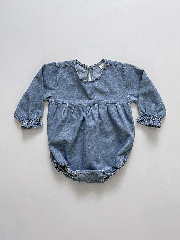 The Denim Romper