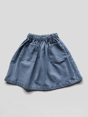 The Denim Skirt
