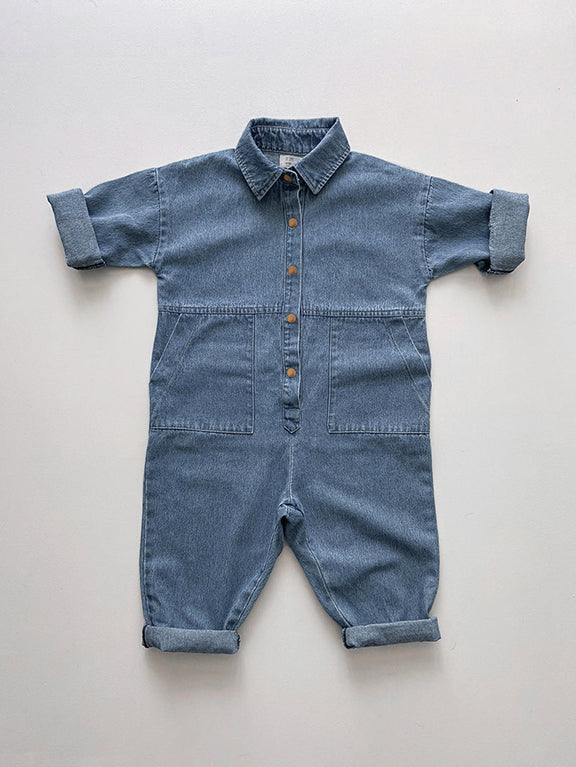 The Denim Boiler Suit