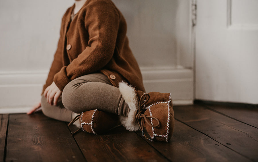 The Sheepskin Bootie