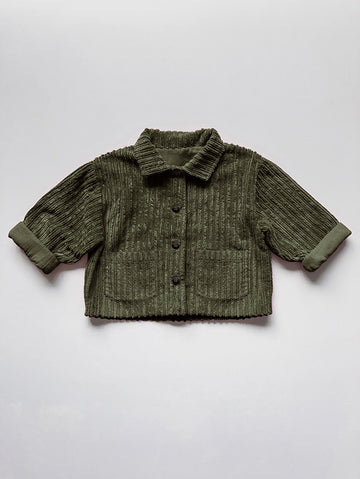 The Vintage Corduroy Utility Jacket