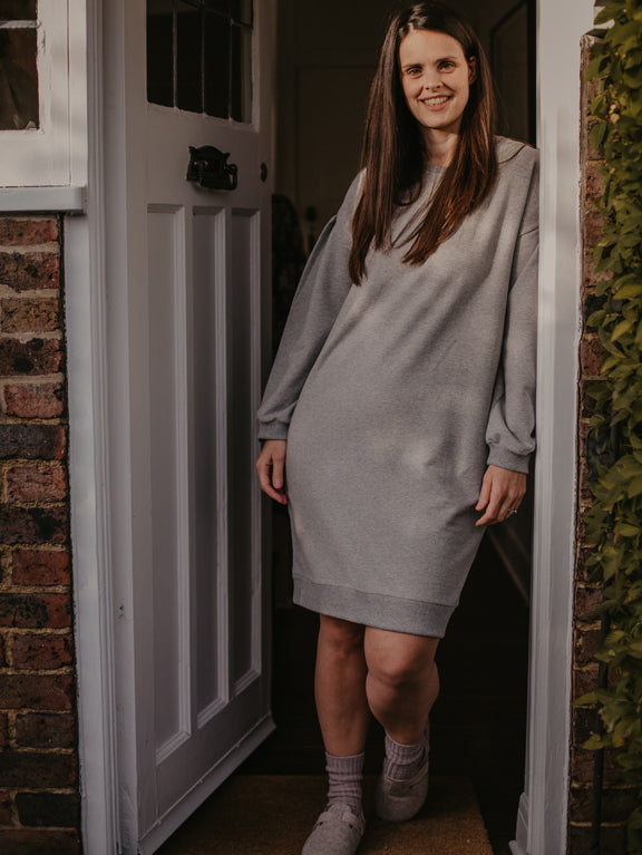 The Oversized Fleece Dress - Women's