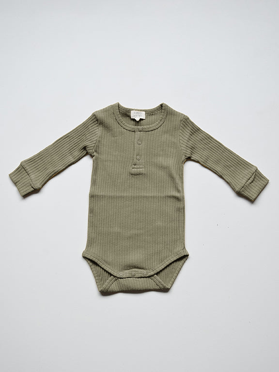 The Ribbed Onesie