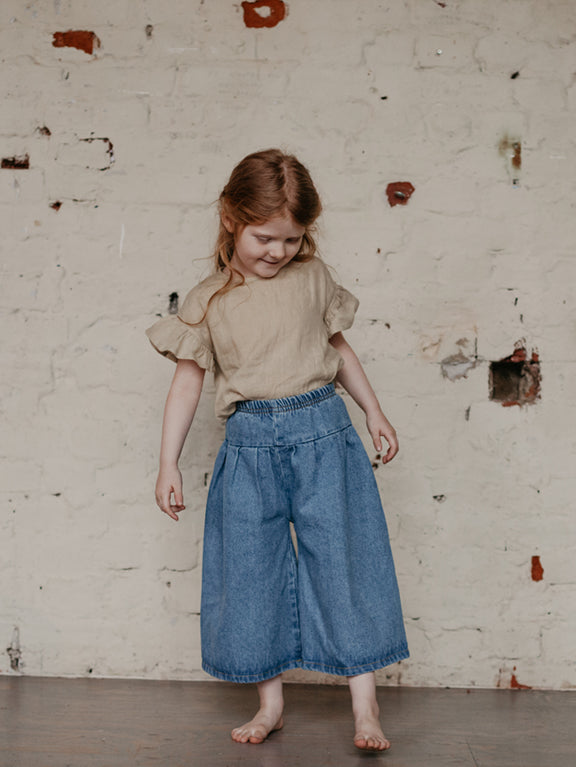 The Denim Culotte