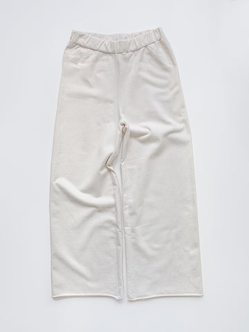 The Wide Leg Fleece Trouser - Women's