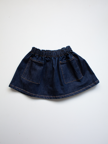 The Denim Simple Skirt