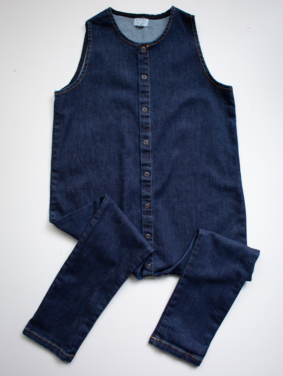 The Denim Forest Playsuit