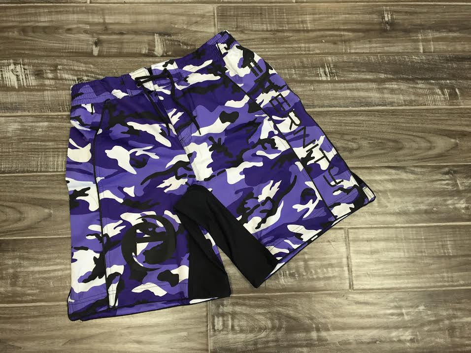 FITERNITY ATHLETE SHORT v3.0 | PURPLE CAMO