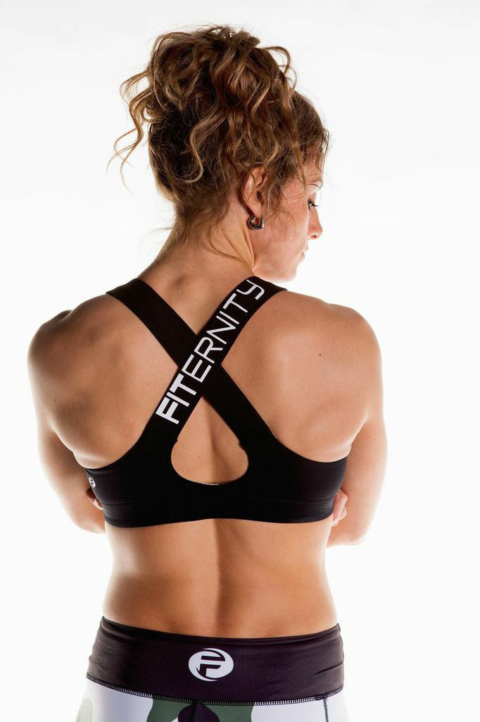 FITERNITY BATTLE BRA | Black