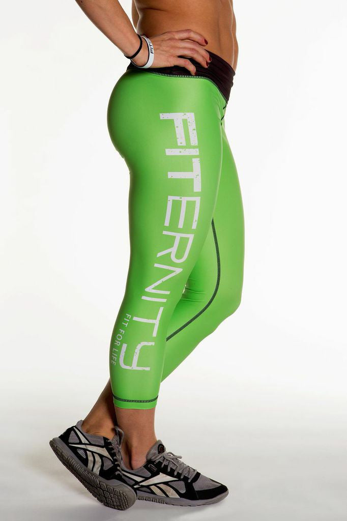FITERNITY Kryptonite Green | Crop