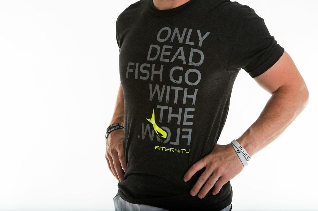 ONLY DEAD FISH MEN'S | BLACK