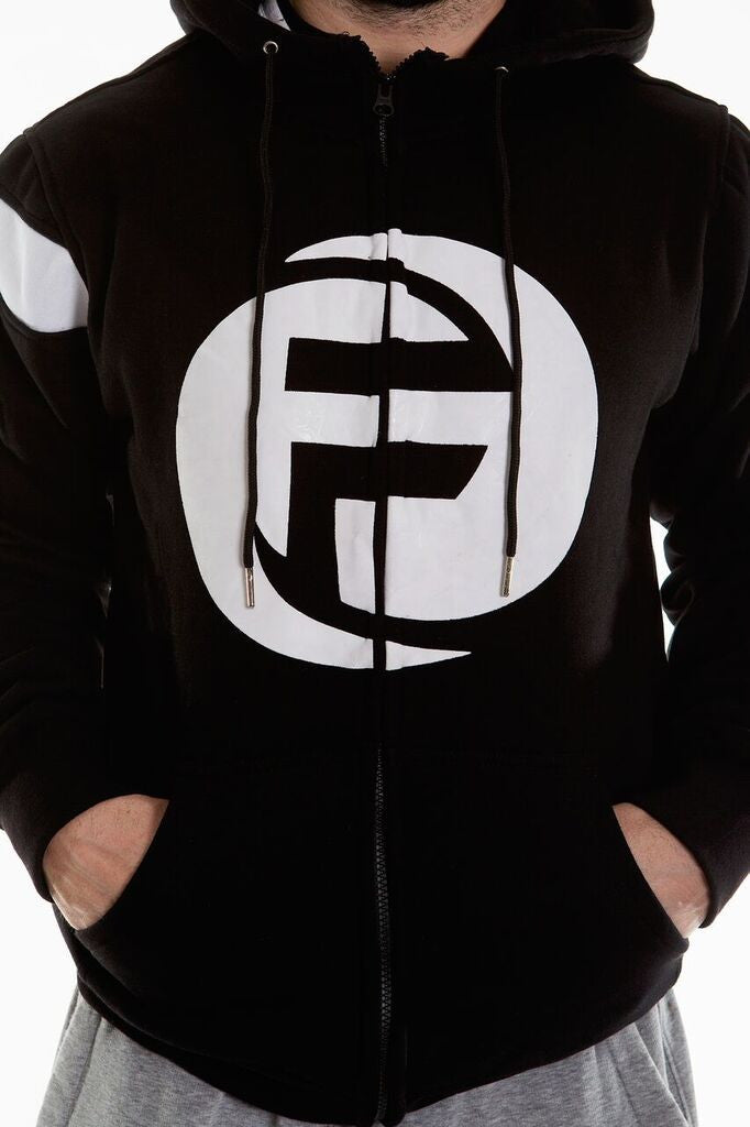 """F"" GRAPHIC FULL-SPEED ZIP HOODIE 