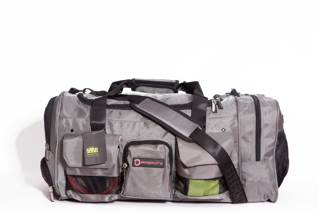 FITERNITY ATHLETE BAG | SILVER