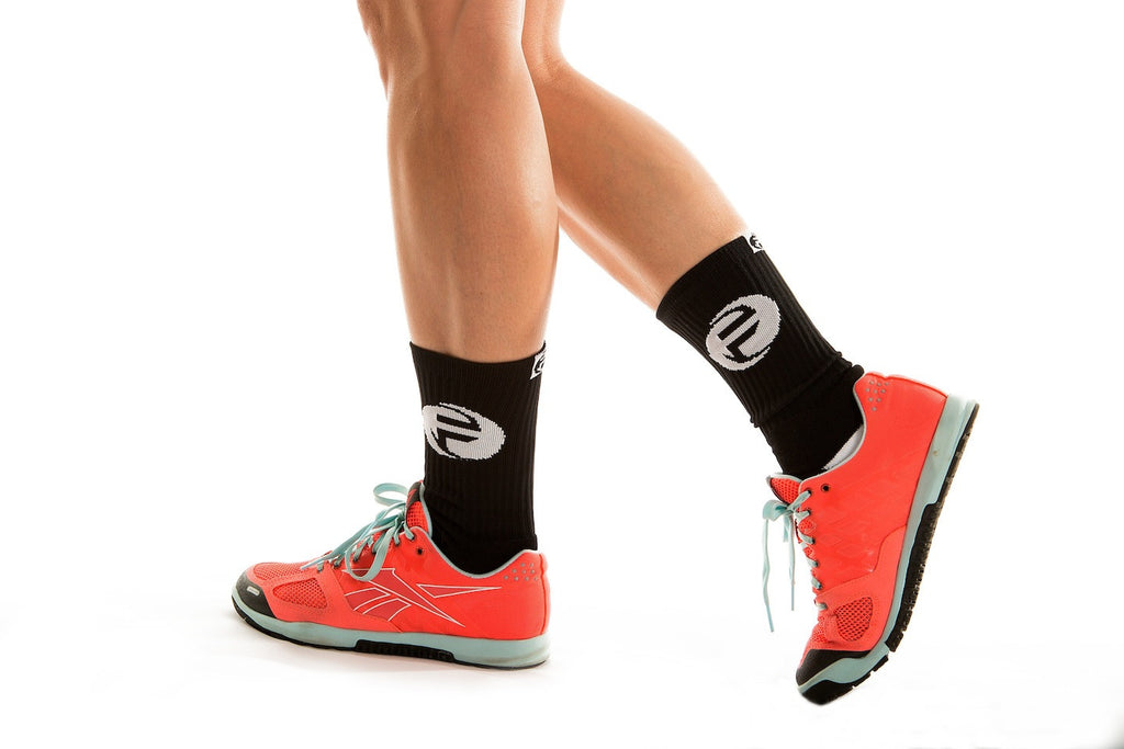 "Fittest Socks on Earth | ""F"" Graphic Black"