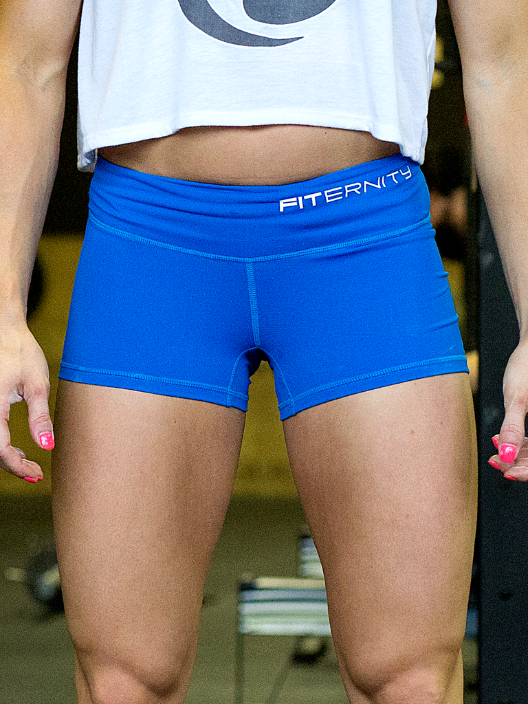 FITERNITY COMMAND SHORTS | Superman Blue