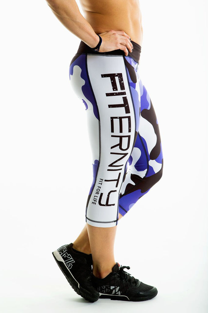 FITERNITY Purple Camo | Crop