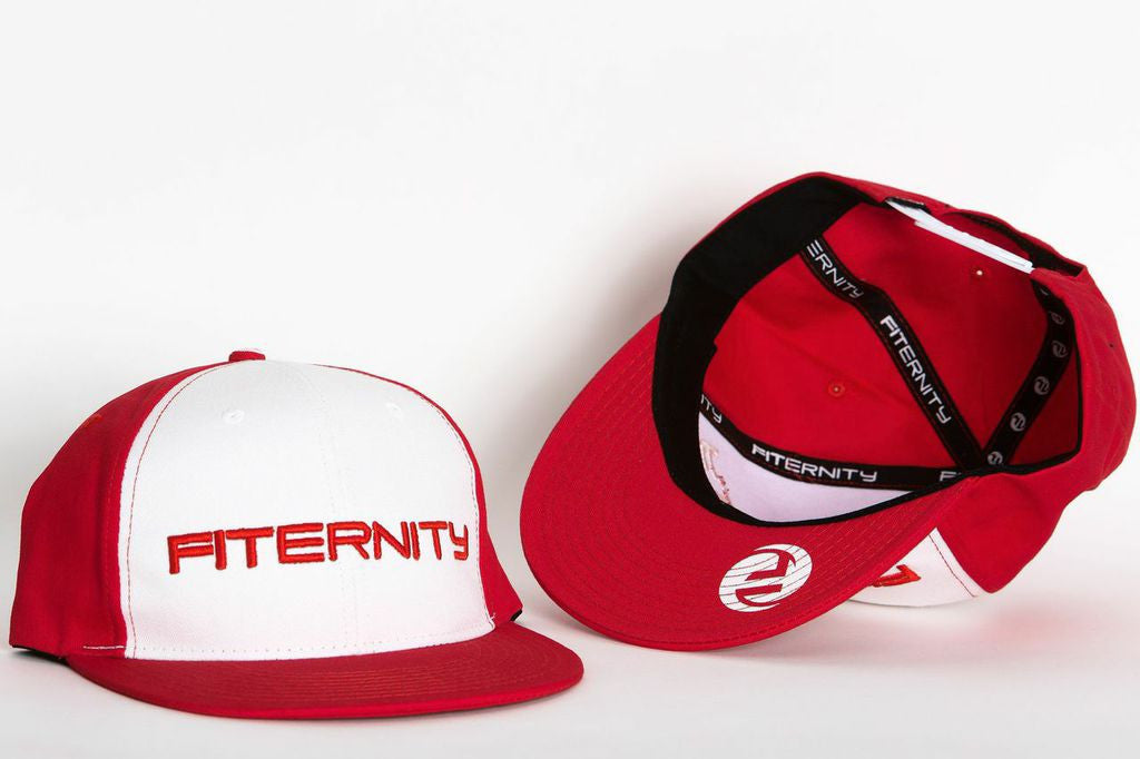 RED & WHITE SNAPBACK