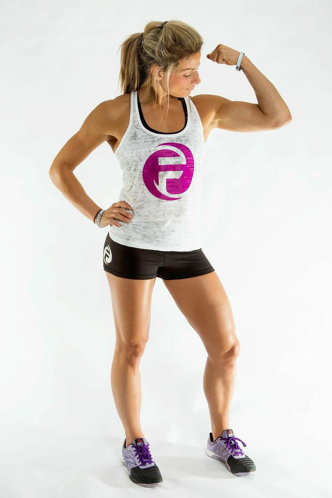 """F"" GRAPHIC WOMEN'S TANK 