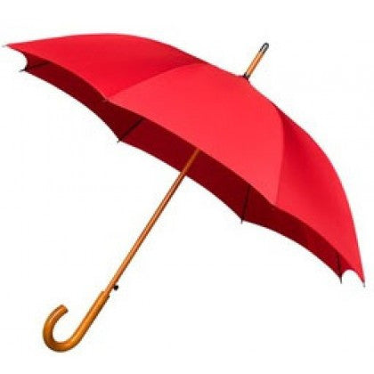 Warwick - Men's Red Windproof Walking Umbrella