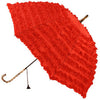 Red FiFi Parasol Multi Frills