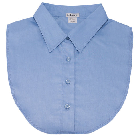 Light Blue Dickey Collar
