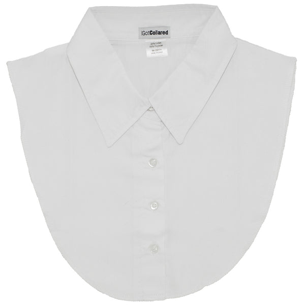 White Dickey Collar