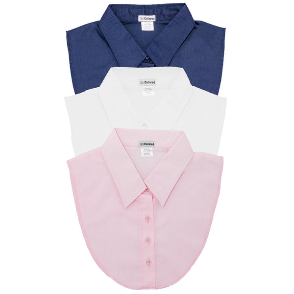 3-Pack Nautical Collection - White, Navy, Light Pink