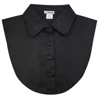 Black Peter Pan Dickey Collar