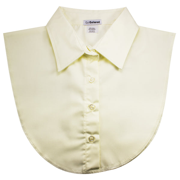 Ivory / Light Yellow Dickey Collar