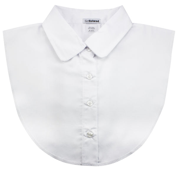 White Peter Pan Dickey Collar