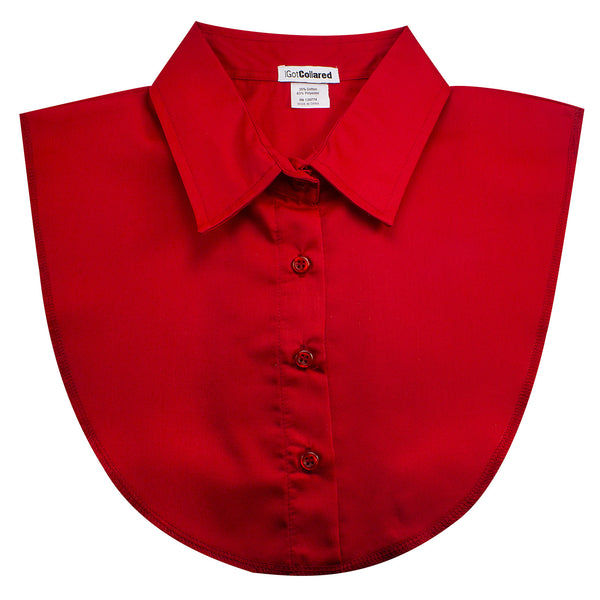 Red Dickey Collar