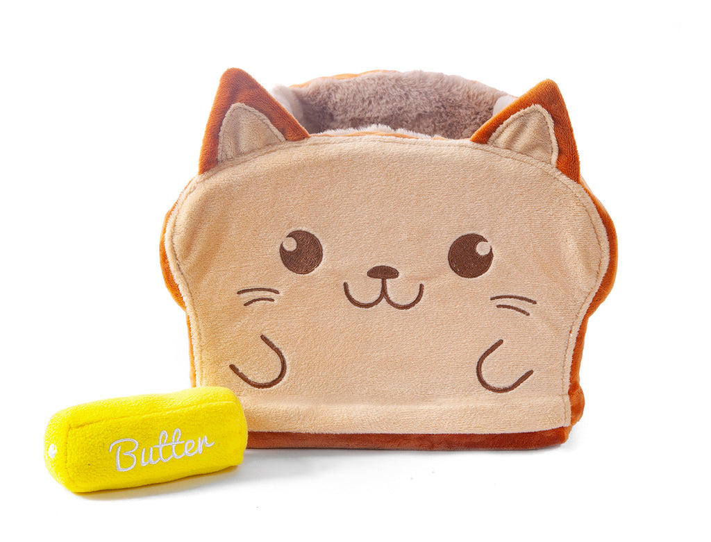 ToastyCat Bed + Butter Plush