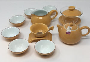 Gaiwan Porcelain Tea set 02