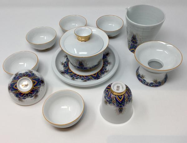 Porcelain Gaiwan Set 03