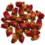 Red rose buds 01