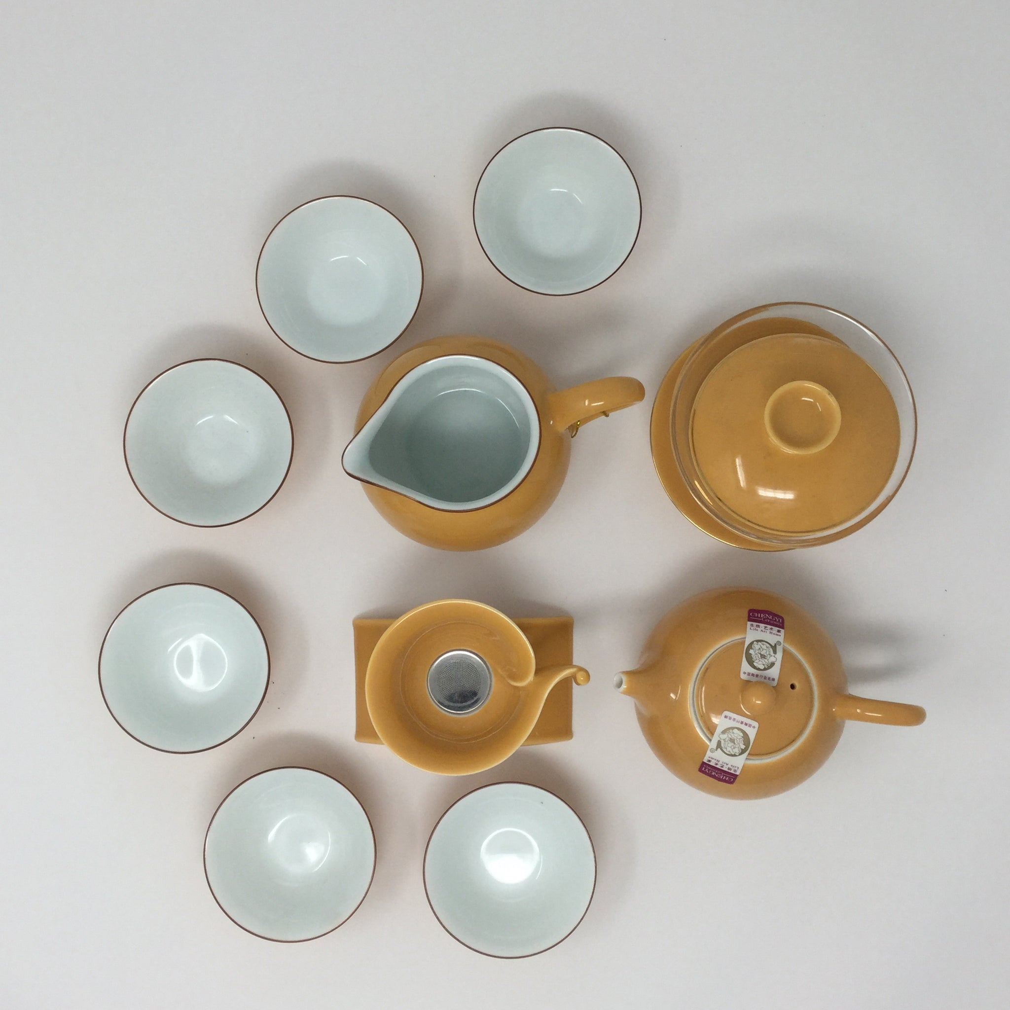 Gaiwan Porcelain Tea set 03