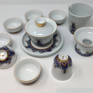 Porcelain Gaiwan Set 01