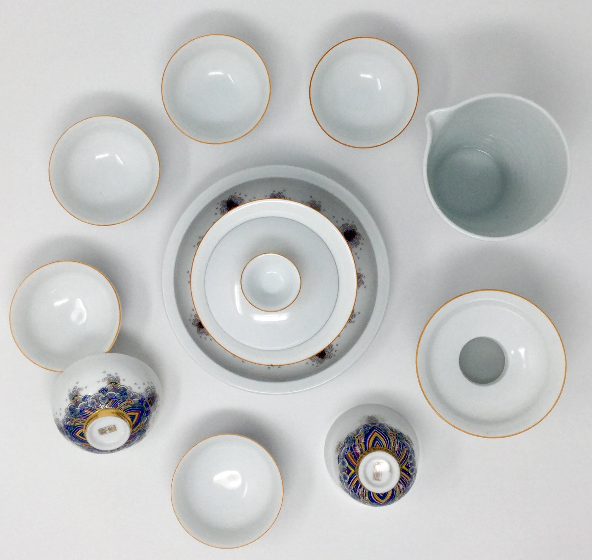 Porcelain Gaiwan Set 02