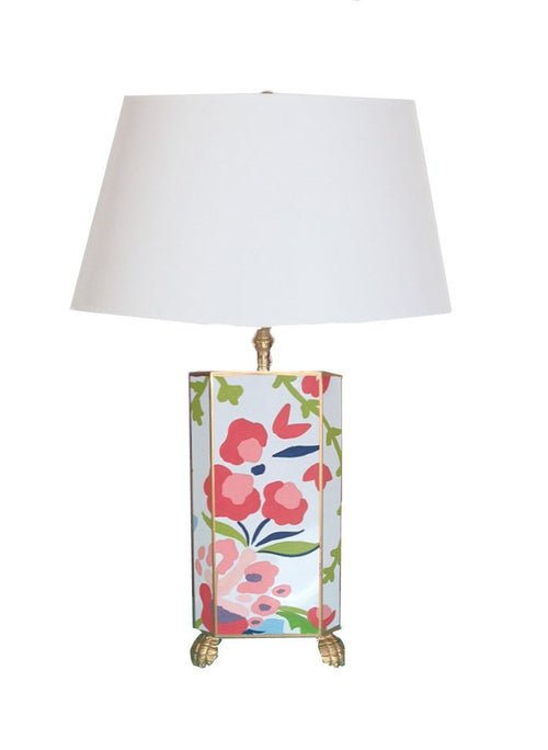 Dana Gibson Chintz Table Lamp, 26""