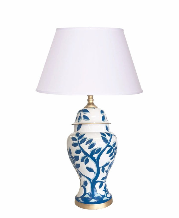 Dana Gibson Cliveden Lamp in Blue